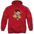 Teen Titans Go Hoodie Robin Red Sweatshirt Hoody