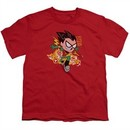Teen Titans Go Shirt Kids Robin Red T-Shirt