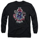 Teen Titans Go Shirt Raven Long Sleeve Black Tee T-Shirt