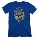 Teen Titans Go Shirt Slim Fit T Royal Blue T-Shirt