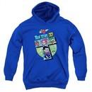 Teen Titans Go Youth Hoodie T Royal Blue Kids Hoody