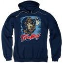 Teen Wolf Hoodie Moon Wolf Navy Sweatshirt Hoody