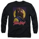 Teen Wolf Long Sleeve Shirt Headphone Wolf 2 Black Tee T-Shirt