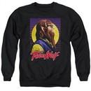 Teen Wolf Sweatshirt Headphone Wolf 2 Adult Black Sweat Shirt