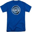 The Amazing Race Shirt Around The World Royal Blue Tall T-Shirt