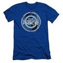 The Amazing Race Slim Fit Shirt Around The World Royal Blue T-Shirt