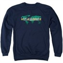 The Amazing Race Sweatshirt Around The World Adult Navy Blue Sweat Shirt