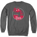The Amityville Horror Sweatshirt Red House Adult Charcoal Sweat Shirt