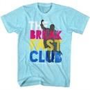 The Breakfast Club Shirt Multi Color Logo Light Blue T-Shirt