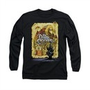 The Dark Crystal Shirt Poster Long Sleeve Black Tee T-Shirt
