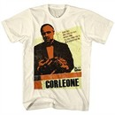 The Godfather Shirt Corleone Cream T-Shirt