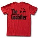 The GodFather Shirt Logo Red T-Shirt