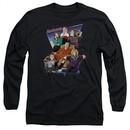 The Goldbergs Long Sleeve Shirt Totally Rad Family Black Tee T-Shirt