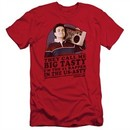 The Goldbergs Slim Fit Shirt Big Tasty Red T-Shirt