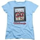 The Goldbergs Womens Shirt Framed Light Blue T-Shirt