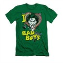 The Joker Shirt Slim Fit Bad Boys Kelly Green T-Shirt