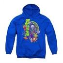 The Joker Youth Hoodie Raw Deal Royal Blue Kids Hoody