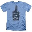 The Last Man On Earth Shirt Real Phil Heather Light Blue T-Shirt