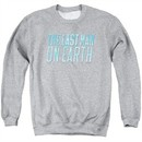 The Last Man On Earth Sweatshirt Logo Adult Athletic Heather Sweat Shirt