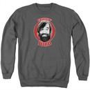 The Last Man On Earth Sweatshirt Friggin Turd Adult Charcoal Sweat Shirt