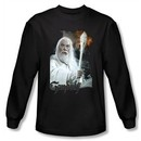 The Lord Of The Rings Long Sleeve T-Shirt Gandalf Black Tee Shirt