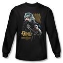 The Lord Of The Rings Long Sleeve T-Shirt Gimli Black Shirt