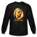 The Lord Of The Rings Long Sleeve T-Shirt My Precious Black Tee Shirt