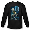 The Lord Of The Rings Long Sleeve T-Shirt Smeagol Black Tee Shirt