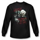 The Lord Of The Rings Long Sleeve T-Shirt Time Of The Orc Black Shirt