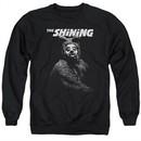 The Shining  Sweatshirt Bear Adult Black Sweat Shirt