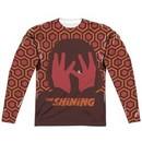 The Shining Long Sleeve Hallway Sublimation Shirt Front/Back Print