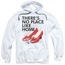 The Wizard Of Oz  Hoodie There's No Place Like Home White Sweatshirt Hoody