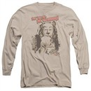 The Wizard Of Oz  Long Sleeve Shirt Put 'Em Up Cowardly Lion Sand Tee T-Shirt