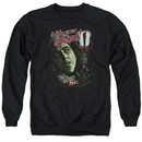 The Wizard Of Oz  Sweatshirt I like Your Shoes Adult Black Sweat Shirt
