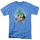 The Wizard Of Oz Shirt Emerald City Carolina Blue T-Shirt
