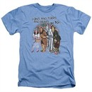 The Wizard Of Oz Shirt Lions and Tigers and Bears Oh My! Heather Light Blue T-Shirt