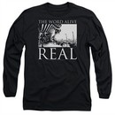 The Word Alive Long Sleeve Shirt Real Black Tee T-Shirt
