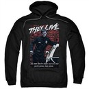 They Live  Hoodie Dead Wrong Black Sweatshirt Hoody