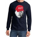 Three Stooges Curly Make America NYUK Again Long Sleeve