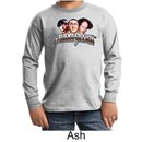Three Stooges Kids Long Sleeve Shirt Funny Faces Youth Shirt