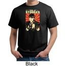 Three Stooges Organic T-shirt Viva La Stooges Big Moe Adult Tee Shirt