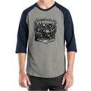 Three Stooges Shirt Bike Week Mens Raglan Tee T-Shirt