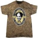 Three Stooges Tee Larry IPA Mineral Tie Dye T-shirt