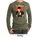 Three Stooges Thermal Shirt Viva La Stooges Big Moe Adult Shirt