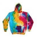 Tie Dye Hoodie Multi Rainbow Groovy Hoodie