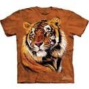 Tiger Shirt Tie Dye Cat Power & Grace T-shirt Adult Tee