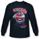 Tommy Boy Shirt Dinghy Long Sleeve Navy Tee T-Shirt