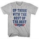 Top Gun Shirt With The Best Athletic Heather T-Shirt