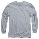Twin Peaks Long Sleeve Shirt Pie Athletic Heather Tee T-Shirt