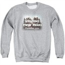 Twin Peaks Sweatshirt Welcome Adult Athletic Heather Sweat Shirt